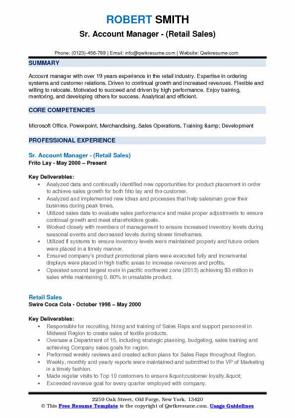 manager resume samples  examples and tips