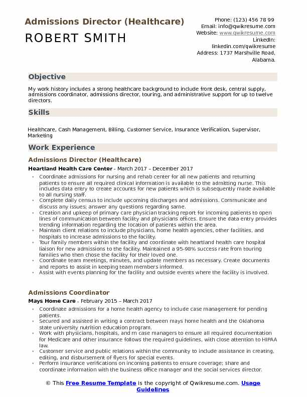 director resume samples  examples and tips