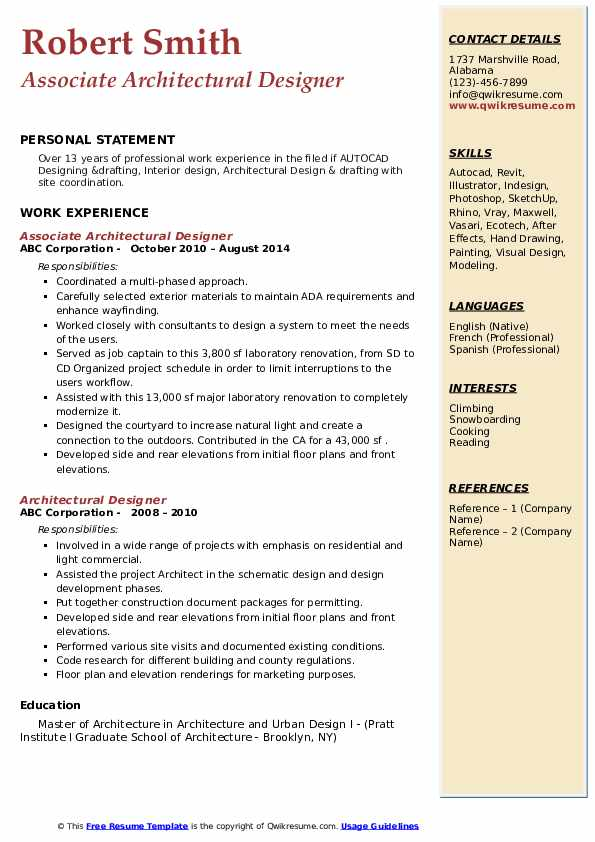 entry level interior design resume examples samples