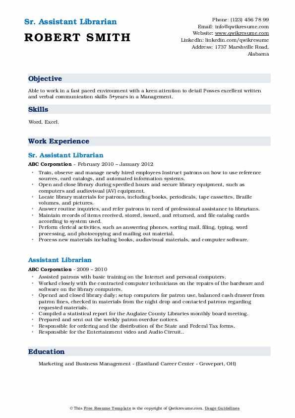 Associate Instrumentation Technician Resume Sample