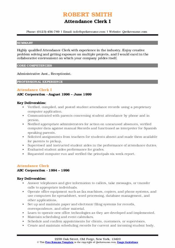 Bilingual Receptionist/Analyst Resume Template