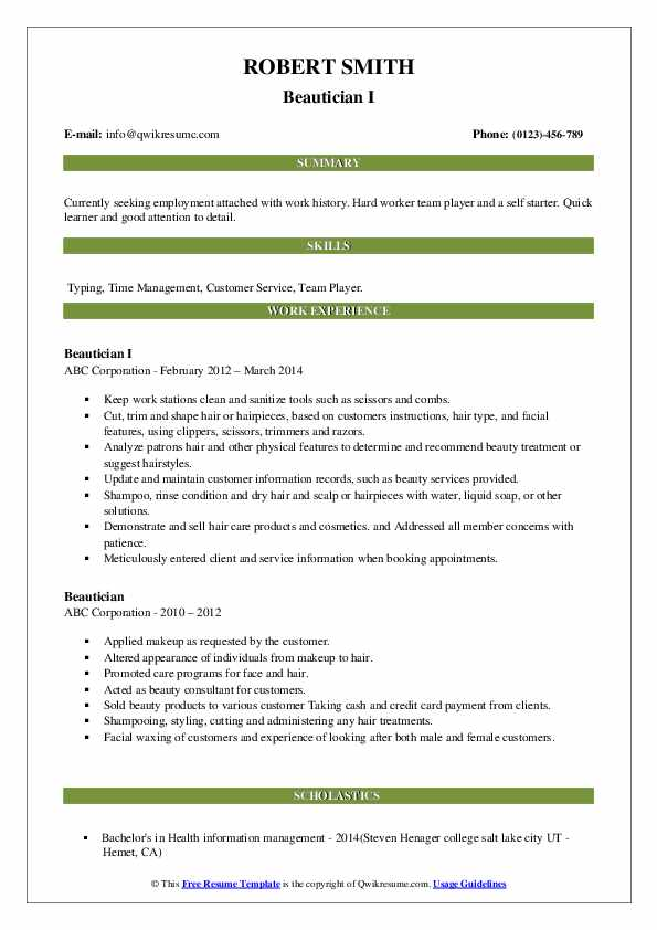 Objective for a beautician resume how to write an effective argumentative thesis statement