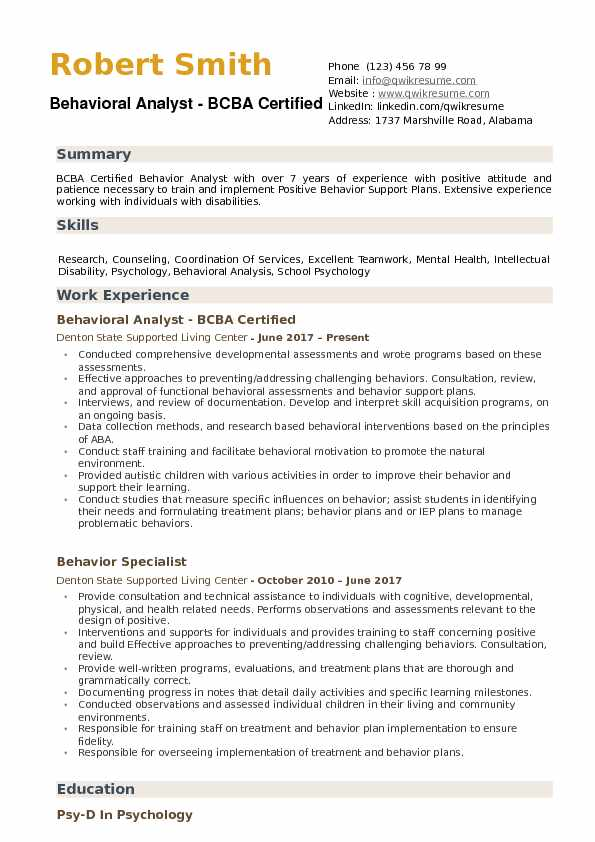 Analyst Resume Samples Examples And Tips