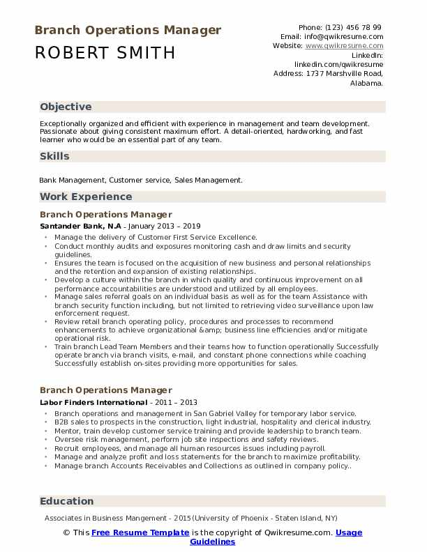 Operation Manager Cover Letter from assets.qwikresume.com
