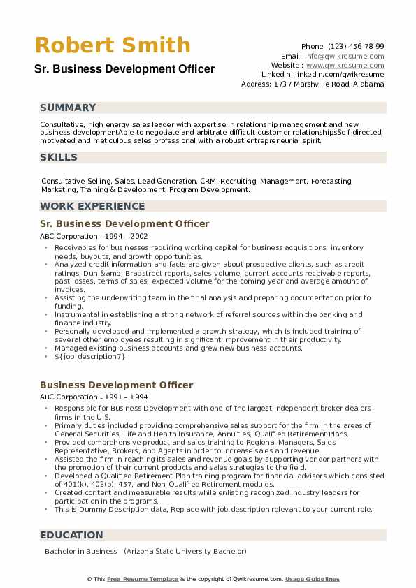 Commercial Loan Officer Resume Samples | QwikResume