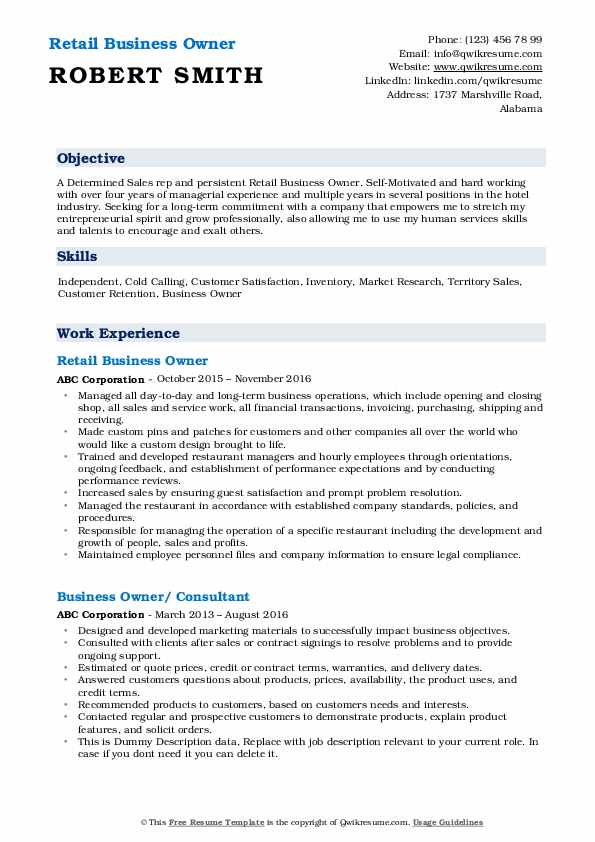 business-owner-1557881933-pdf Example Of Performance Resume on best sample, graphic design, good job, best teacher, registered nurse, new professional, great customer service,