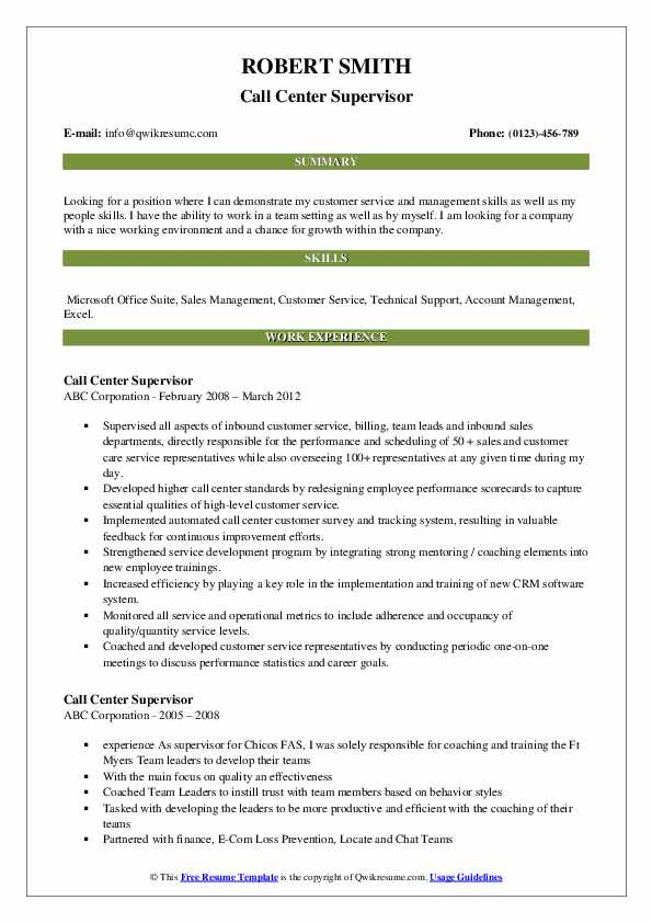 Manager of Operations Support Resume Sample