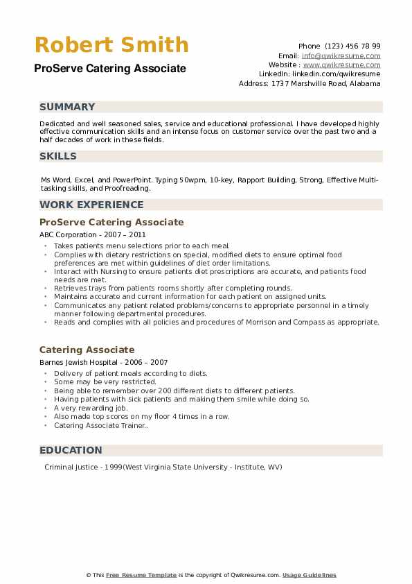 Customer Service Manager Trainee Resume Model