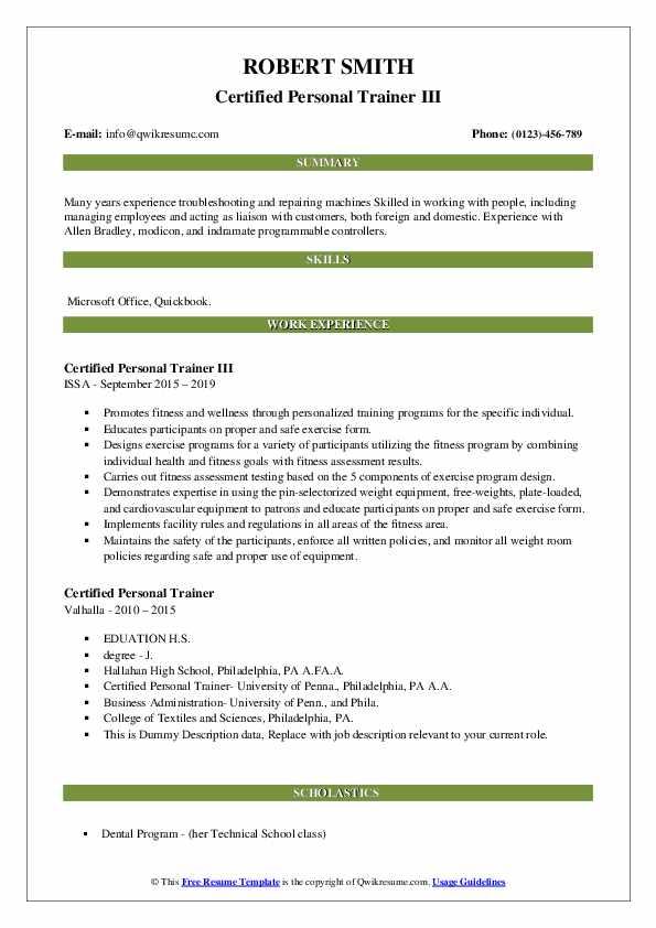 Jr. Dental Technician Resume Model