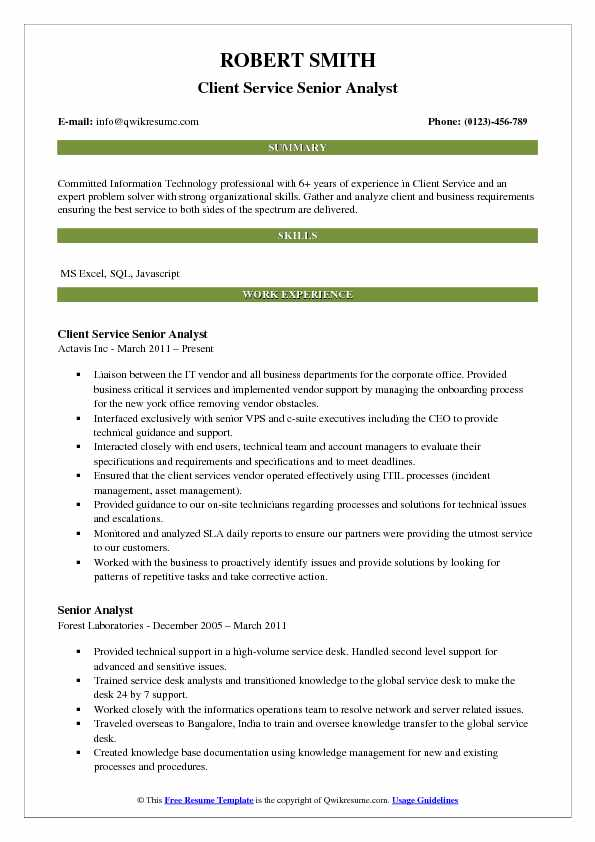 service analyst cover letter for customer service analyst hris analyst resume client service analyst resume samples
