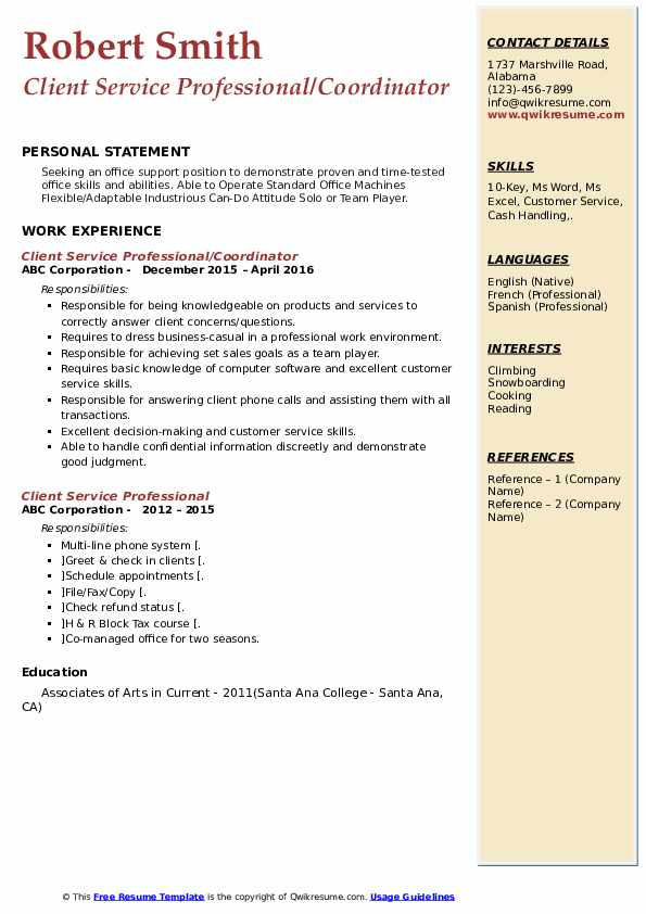 Assistant Mail Handler Resume Example