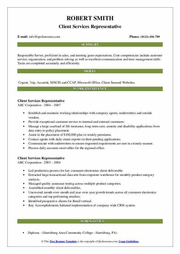 Insurance Coordinator/Treatment Coordinator Resume Sample