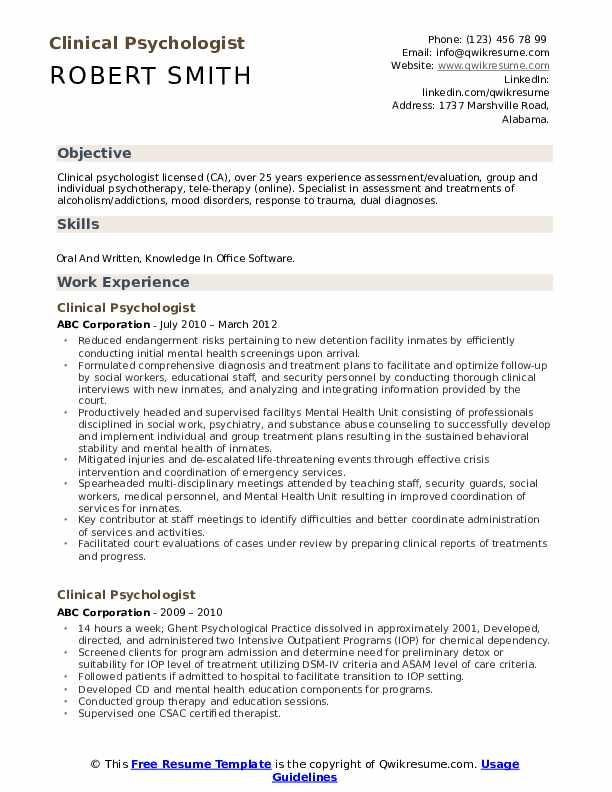 Clinical phd resume statistician