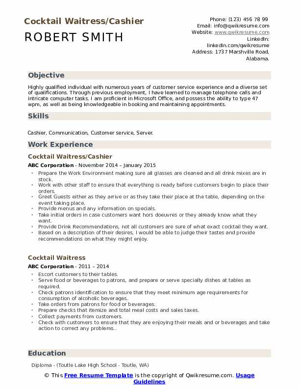 Groomer Resume example