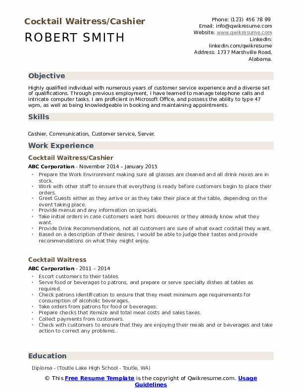 Groomer Resume example