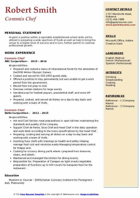 marketing events gala resume