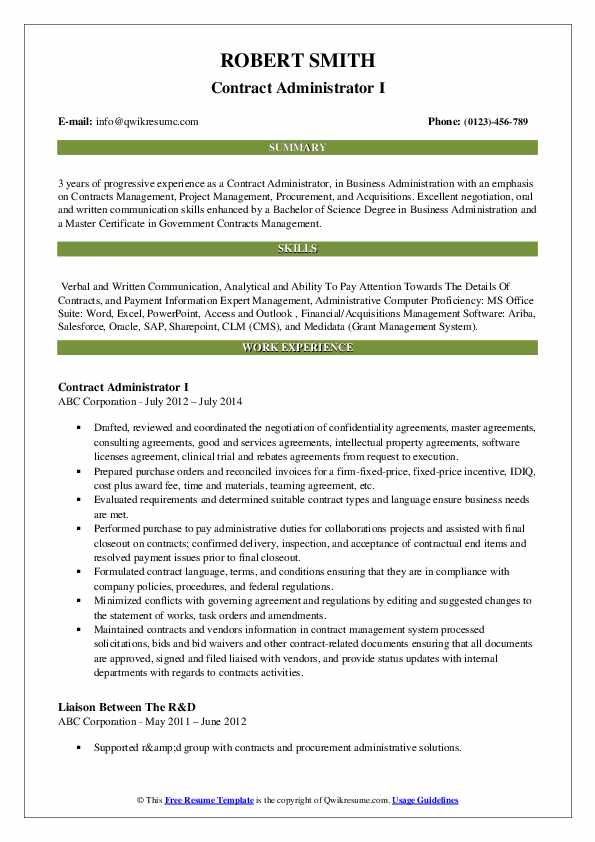 Purchase to pay resume