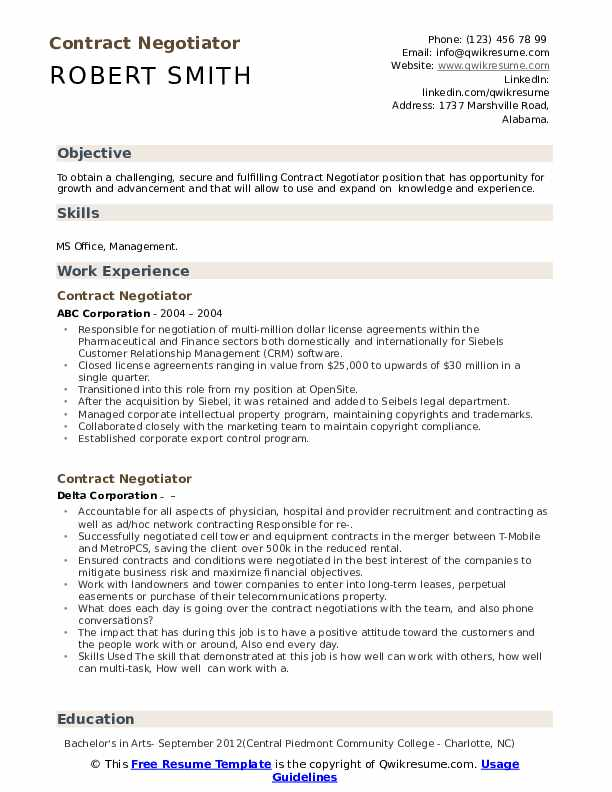 Resume negotiations resume formats for microsoft word 2010