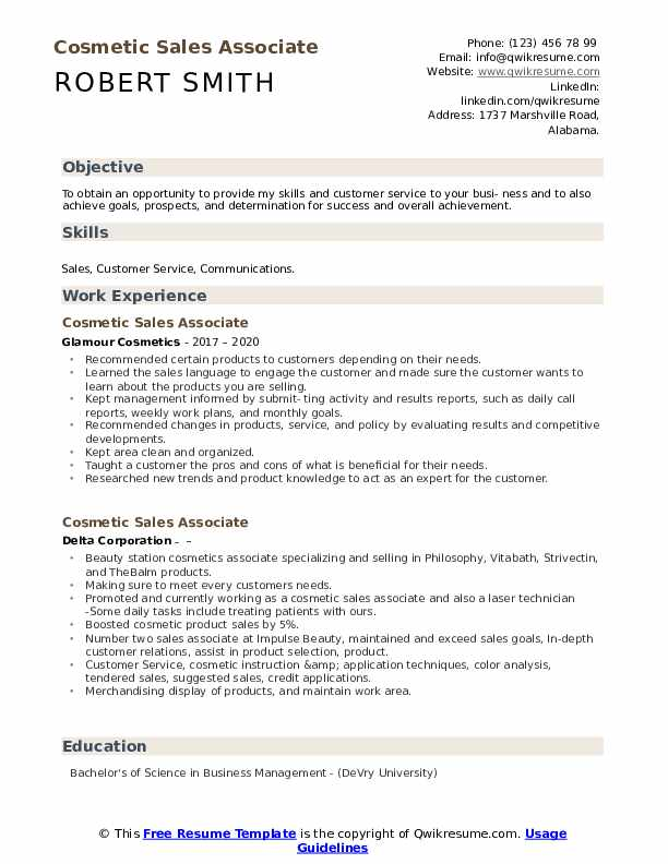 Resume beauty supply store how to write capability statements