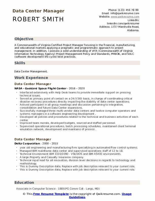 Data center construction manager resume best dissertation methodology ghostwriter site for phd