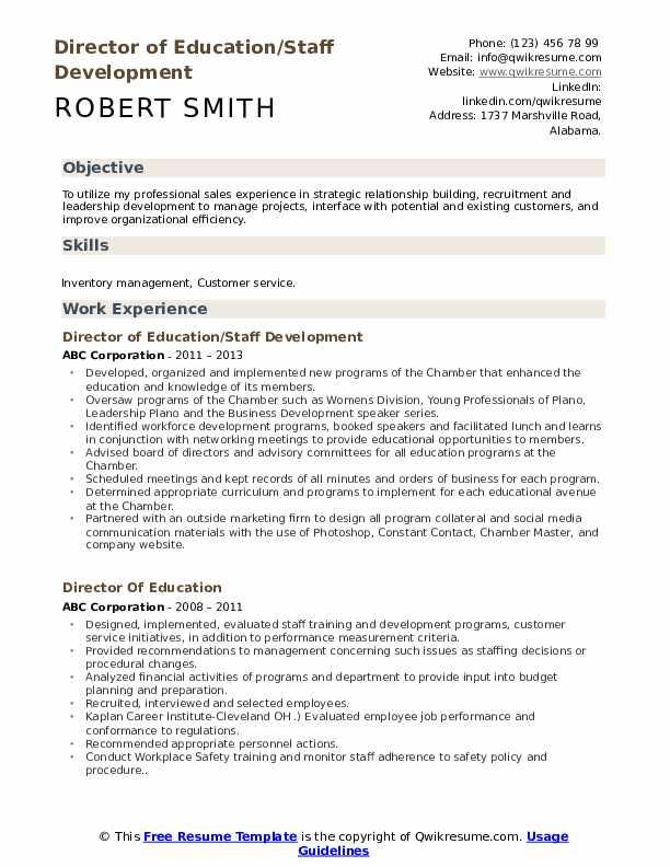 Community Outreach Coordinator Resume Format