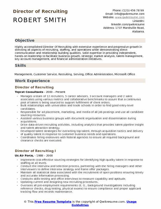 Distribute resume recruiters