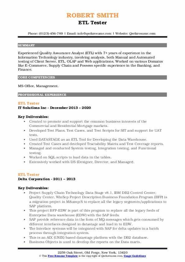 Informatica testing resume sample write a letter in italian