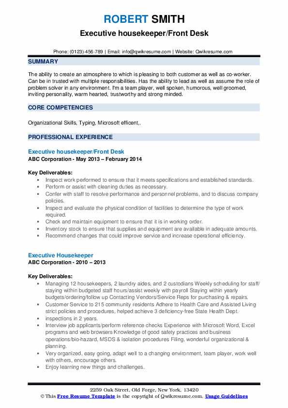 Software Quality auditor Resume Model