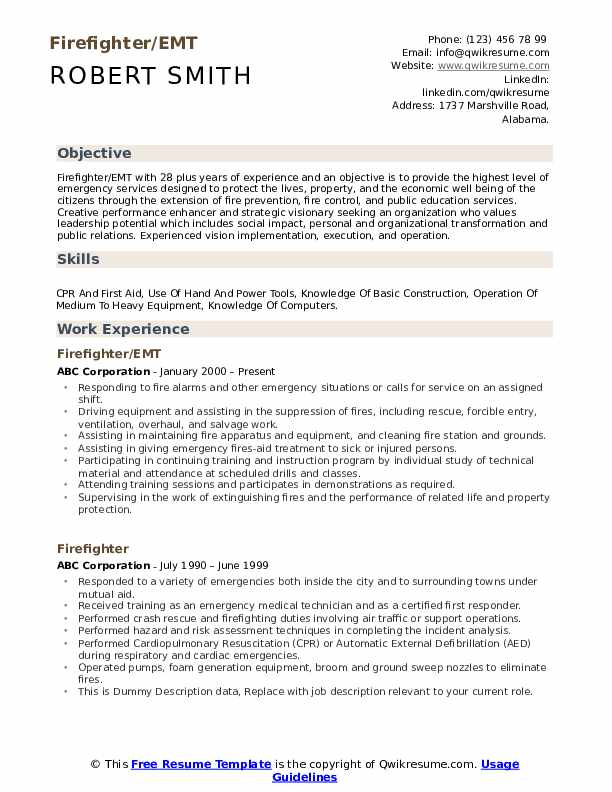 Operations Analyst Resume Template