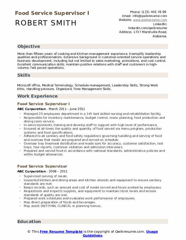 Nutrition Specialist Resume Samples Qwikresume