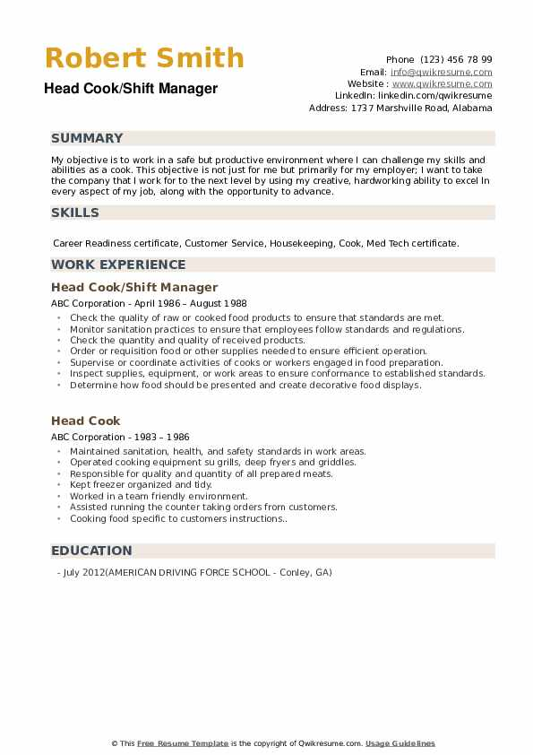 Mental Health Counselor III Resume Format
