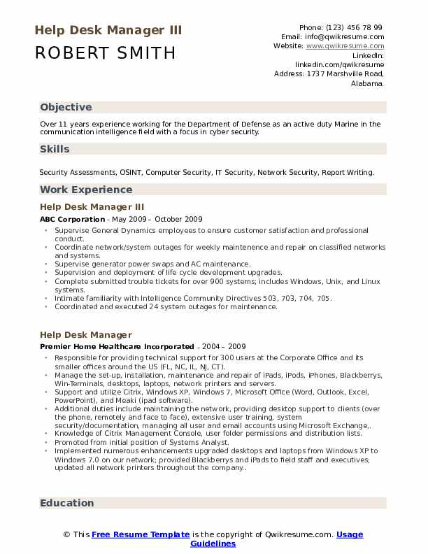 Information Systems Security Officer Resume example