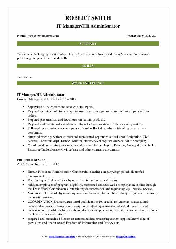 Information Security Engineer Resume Format