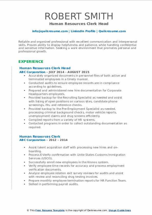 Jr. Security Receptionist Resume Format