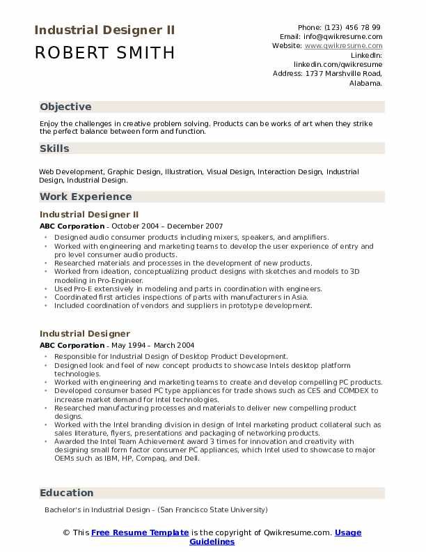 User Experience Designer Resume Samples Qwikresume