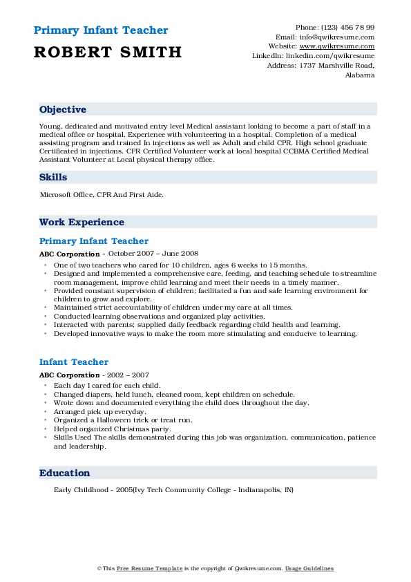 Sr. Library Aide  Resume Template