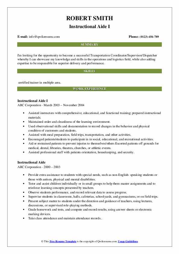 Dispatch Manager/Purchasing Manager Resume Sample