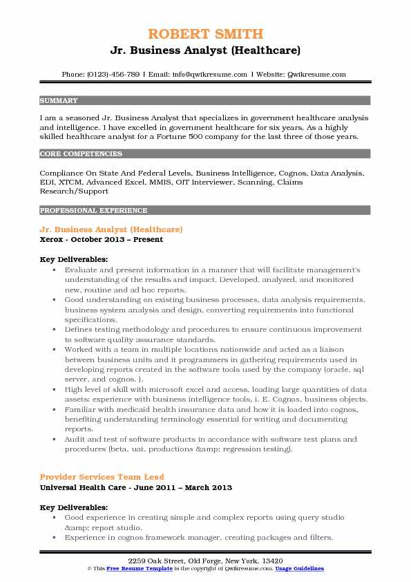 business analyst resumes sles resume free resume images