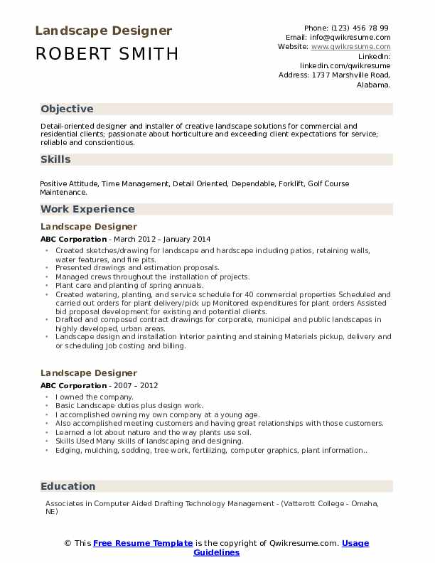 Landscape designer resume critical criticism doing essay in text theory things