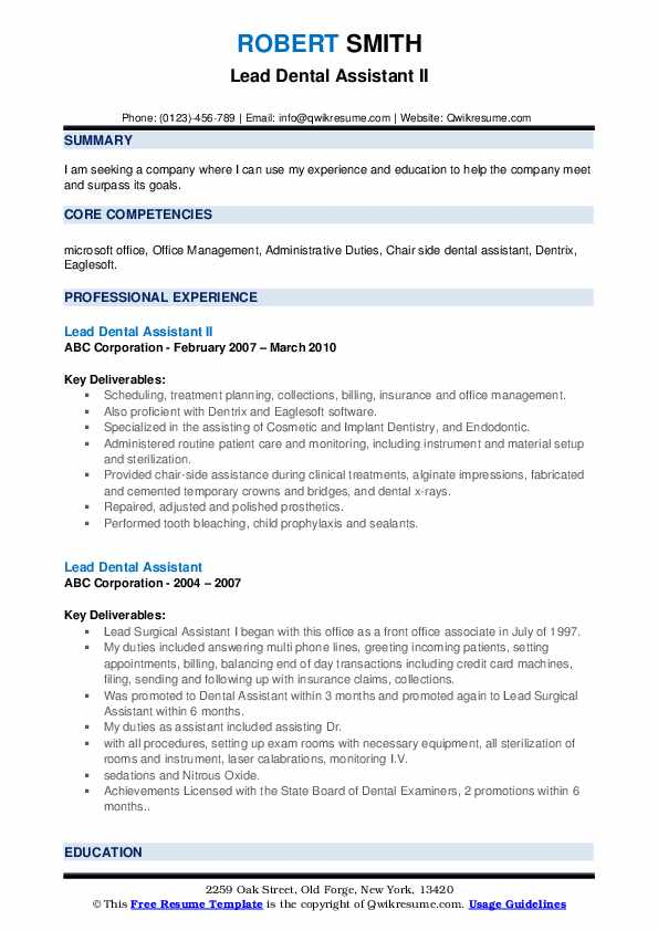 lead-dental-istant-1560252873-pdf Office Administrative Resume Format on assistant iii, assistant accounting, services coordinator, objective examples for, support professional,