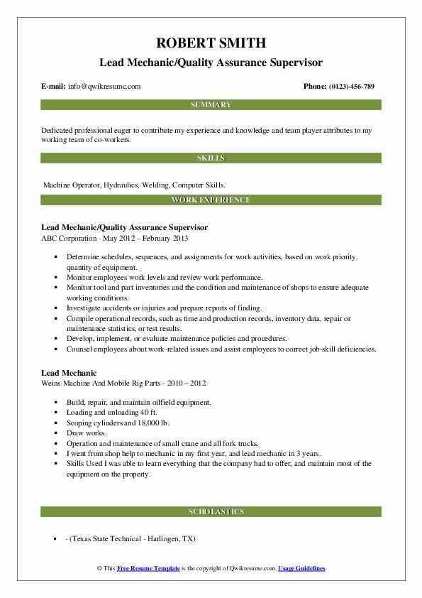 plant engineer resume samples