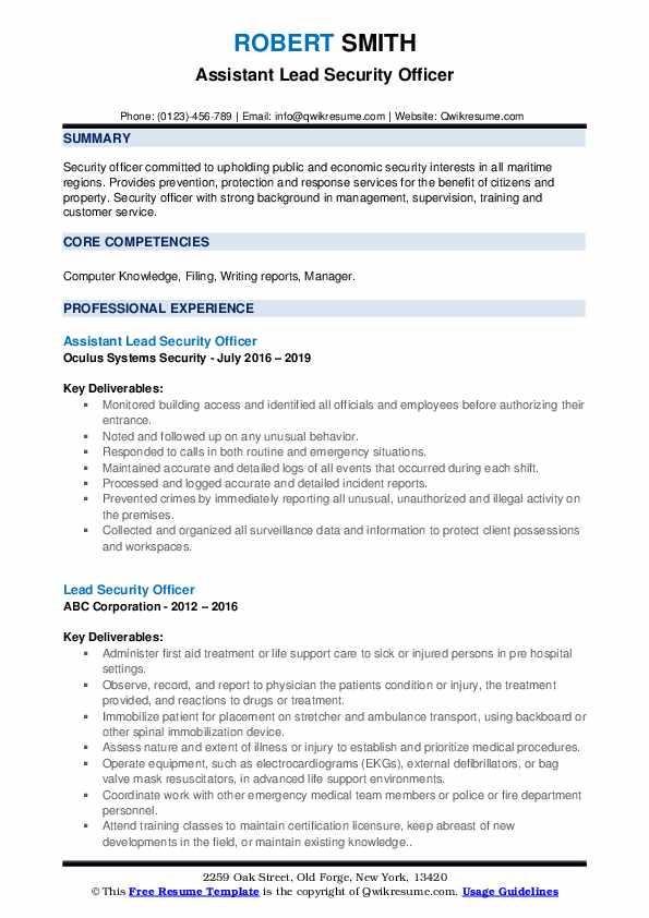 Warehouse Packer Resume example