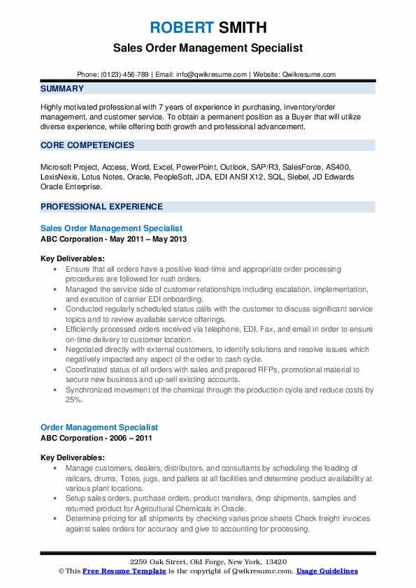 Peoplesoft order management resume i am going to do homework in spanish