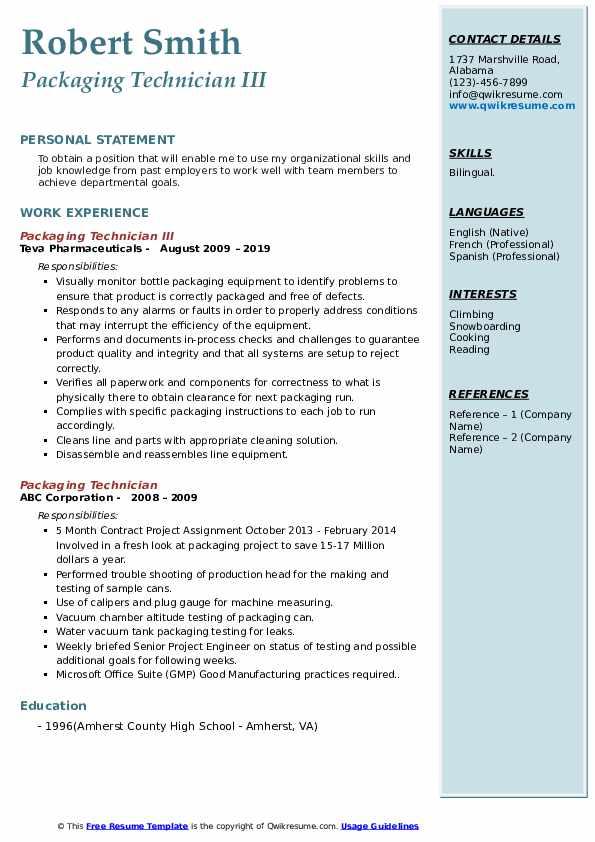 Distribution Associate/Supervisor Resume Format