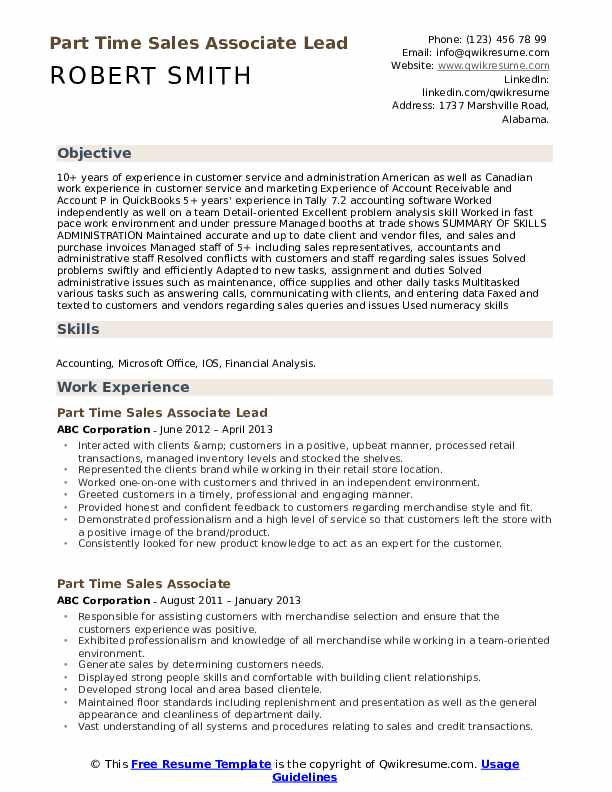 Fitness Consultant Resume example