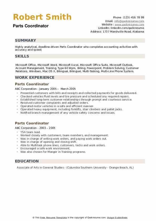 Cash Applications Specialist Resume example