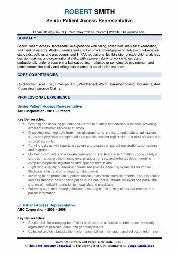 Patient admissions resume