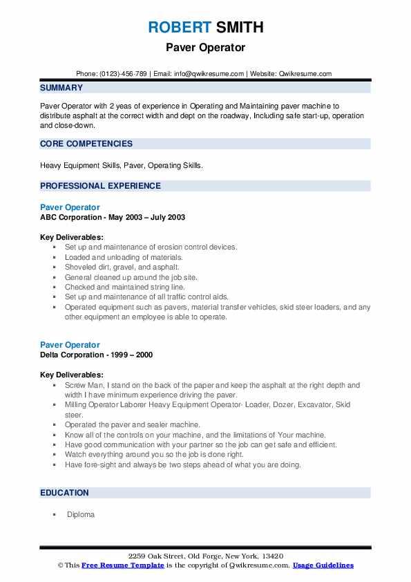 Paving objective resume preparing your cv resume google