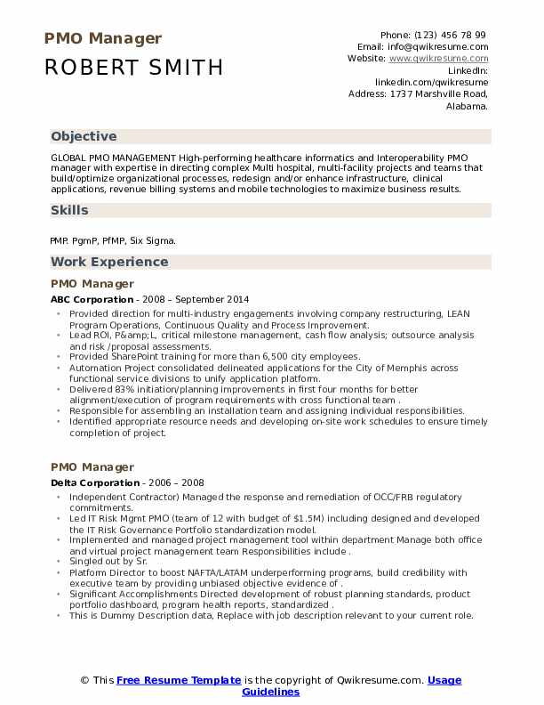 Pmo resume format uwspace thesis submission