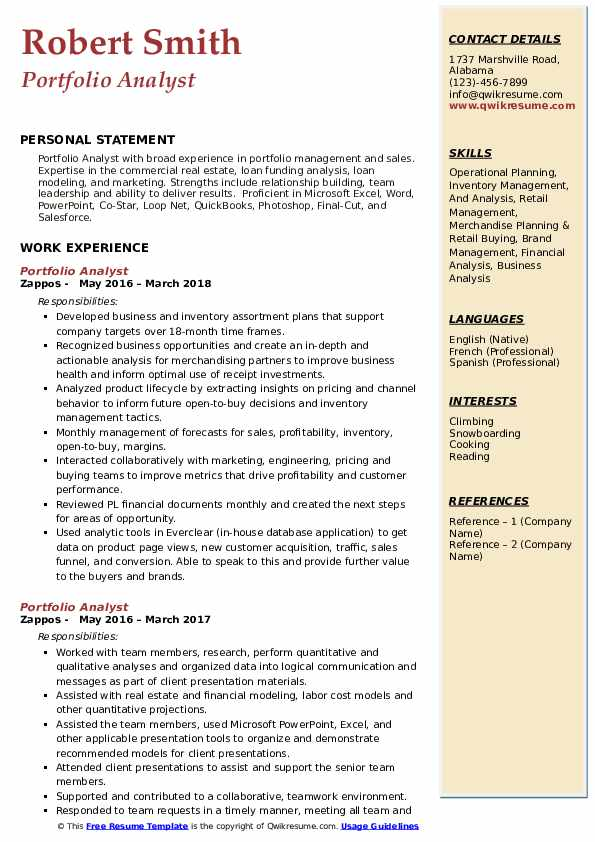 98+ Portfolio Analyst Resume - Hedge Fund Best Of Analyst Sample